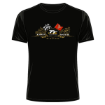 Isle Of Man TT Flags T-Shirt 2019